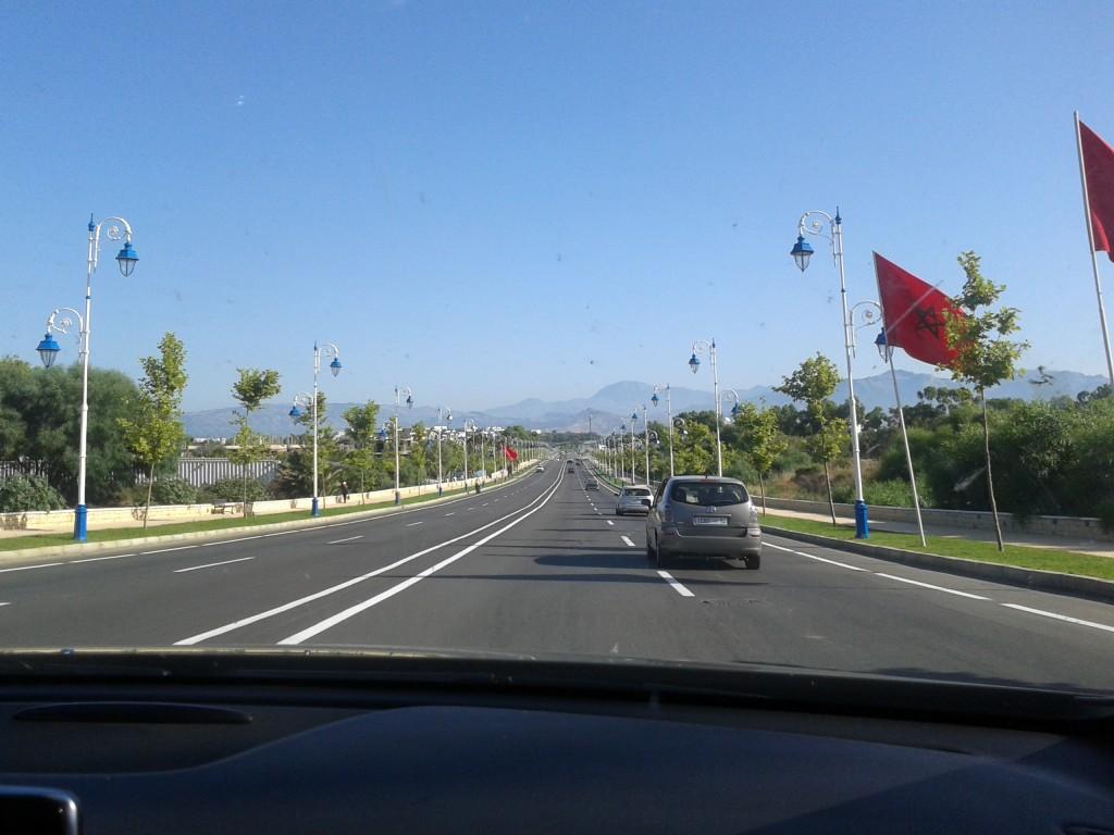 road Tetouan